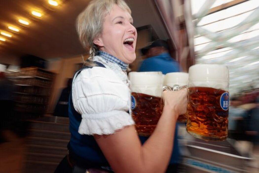 Éste es el mayor festival de cerveza del mundo, y atrae cada año a millo...