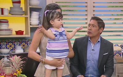 Baby Giulietta está pidiendo hermanito ¿será que Ana la complacerá pronto?