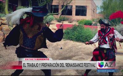 El trabajo y preparación detrás del 'Renaissance Festival'
