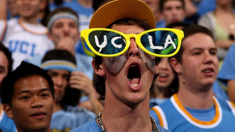 Aficionado del equipo de los Bruins de UCLA