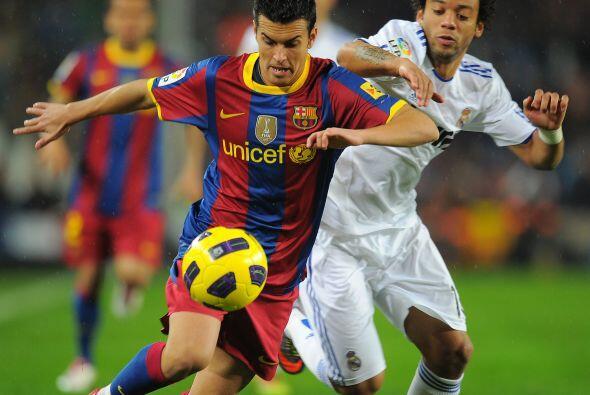 Tras este tanto, el Barça no bajó el ritmo y se mantuvo co...