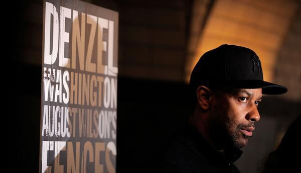 Denzel Washington se apunta a la carrera por el Oscar con 'Fences'