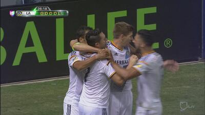 LA Galaxy 5 - SJ Earthquakes 2: Gerrard luce en su debut y Keane hace tr...