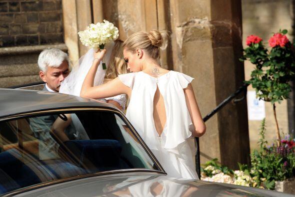 Esta boda llena de 'glamour' no podía ser manos, pues tenía como protago...