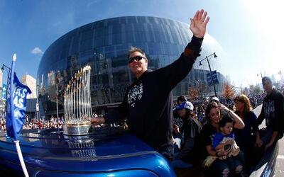 Los Reales de Kansas City, flamantes campeones de la Serie Mundial, fue...