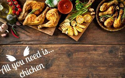 todo lo que necesitas es pollo