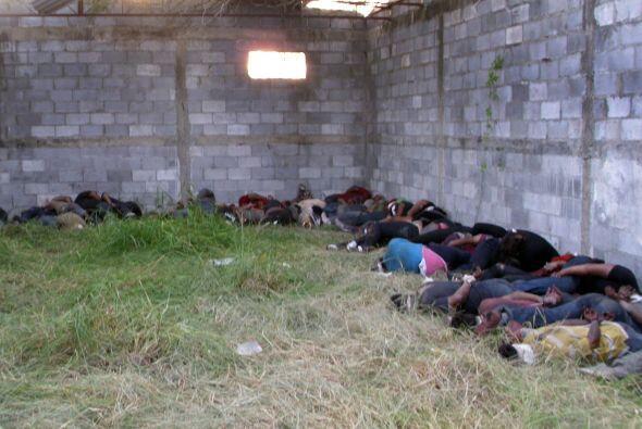 El grupo de indocumentados pretendía llegar a EU pero fueron secuestrado...