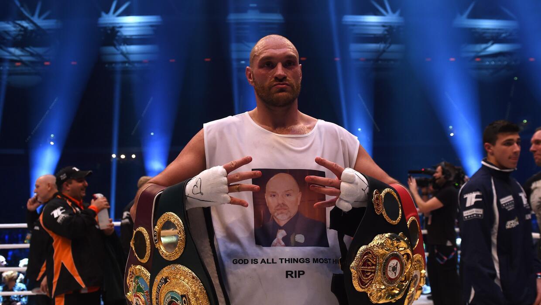 "Tyson Fury acusó al equipo de Wladimir Klitschko de ser ""tramposos"""