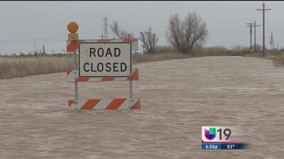 Reportan varias zonas inundadas en el condado Colusa
