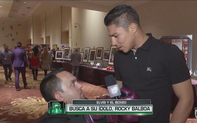 Elvis busca a su ídolo, el Boxeador Rocky Balboa
