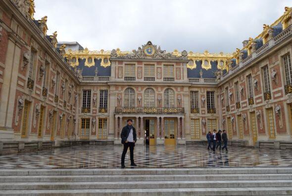 El patio del rey, un espacio abierto y muy espectacular.