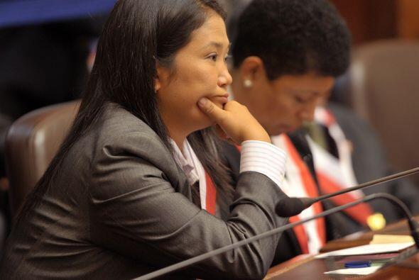Keiko aseguró que la familia esperará que la justicia peruana se pronunc...