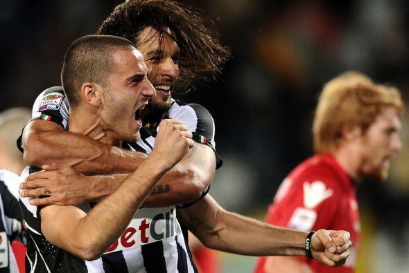 Bonucci le dio forma a la goleada de la 'Juve' con otro tanto en la segu...