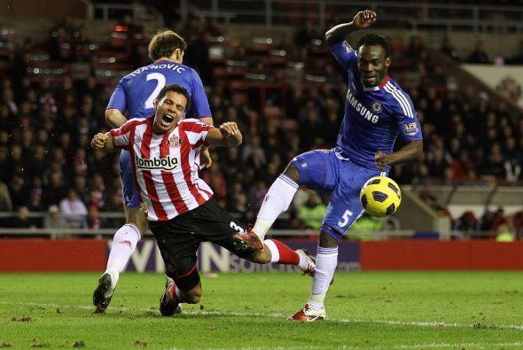 Chelsea se vio abajo en el marcador, pero supo reaccionar.