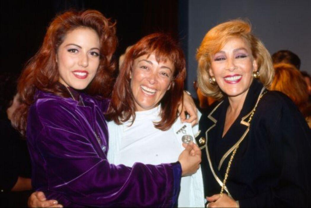Tres Pinales: Stephanie Salas, Silvia Pasquel y Silvia Pinal/México, 1990.