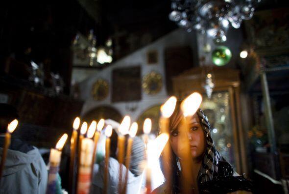 Los cristianos de Tierra Santa se preparaban el viernes para celebrar la...