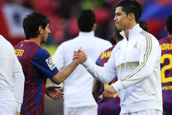 El argentino y el portugués siguen sometidos a su personal competencia....