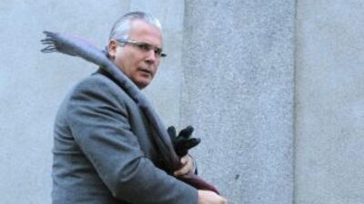 El juez español Baltasar Garzón fue condenado a 11 años de inhabilitació...