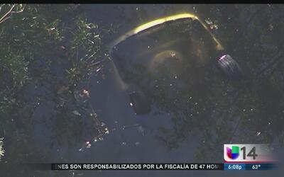 Niñas mueren ahogadas en aparatoso accidente