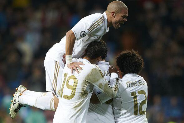 Cuatro goles en favor del Madrid, sumados a los tres de la Ida ya eran s...