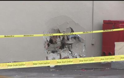 Vehículo fuera de control terminó accidentado contra un edificio en Sant...