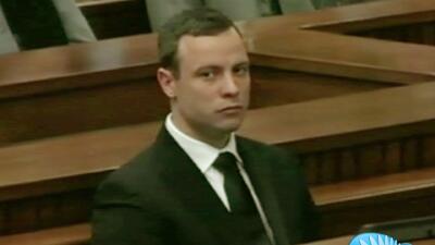 Oscar Pistorius no sufría de enfermedad mental cuando le disparó a su novia