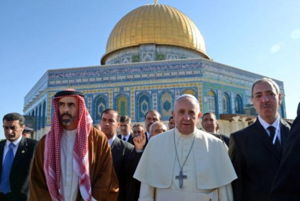 Este lunes, el papa Francisco pidió que Jerusalén sea la verdadera ciuda...