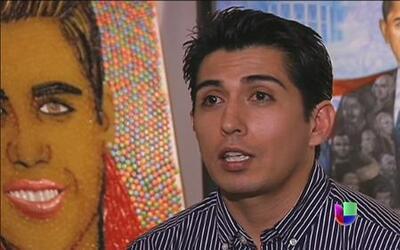 Artista mexicano sorprende a los Estados Unidos