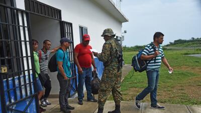Cubanos vía a Panamá