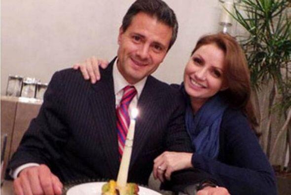 Peña Nieto disfrutó de la compañía de la act...