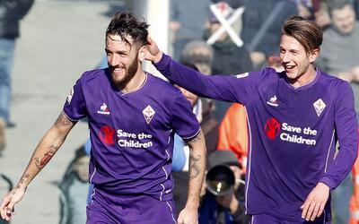 La Fiorentina sigue sorprendiendo en Italia