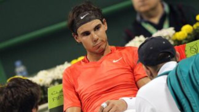 Rafael Nadal quedó fuera de la final y espera llegar al Abierto de Austr...