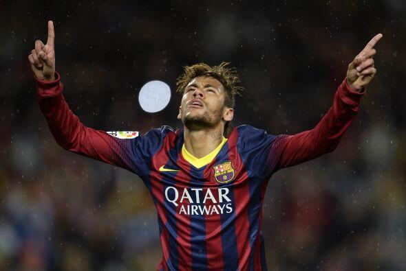 Fue el brasileño Neymar quien repitió la dosis al arquero del Celta.