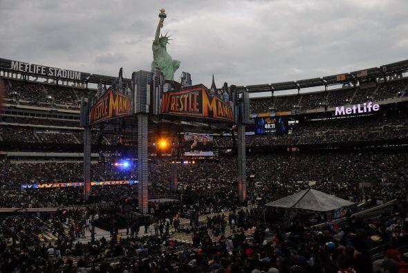 El Metlafe Stadium de Nueva Jersey recibió la edición 29 de la Wrestlema...