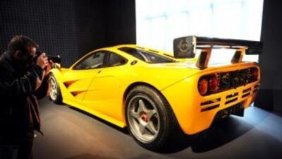Este McLaren ML 1996 es uno de los 17 autos de la colección privada del...