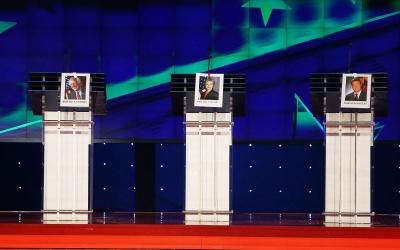 Set del primer debate demócrata