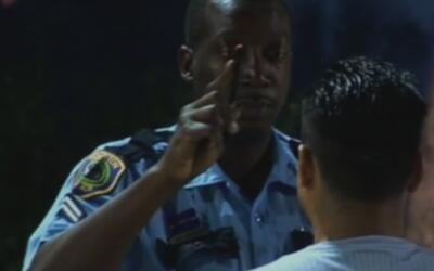 """""""Maneje sobrio o será retirado de la carretera"""", operativo de la policía..."""