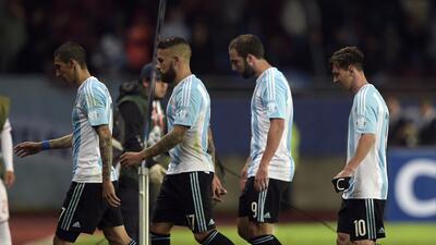 Higuaín se une a las bajas de Di María, Lavezzi y Pastore en la Albiceleste