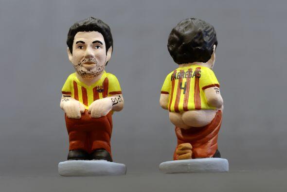Sigue la alineación del Barcelona con Cesc Fáfregas.