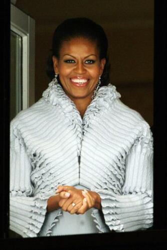 El 'glamour' tocó la puerta de la Casa Blanca para entregarle piezas más...