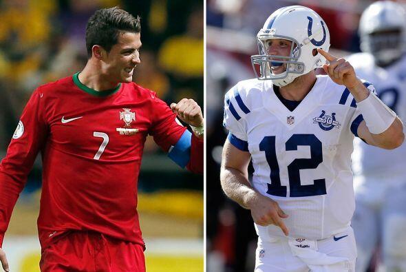 """Portugal-Indianapolis Colts En adelante Cristiano Ronaldo """" ganador del..."""
