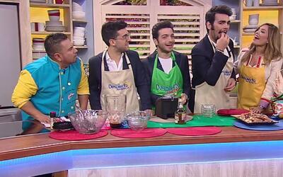 Los integrantes de Il Volo probaron la receta de 'Il Guiso para desembru...