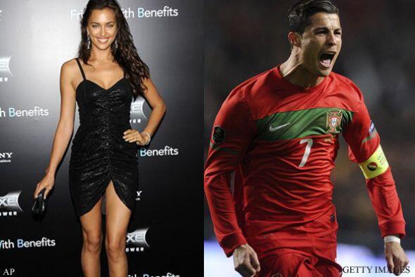 IRINA SHAYK Y CRISTIANO RONALDO: El futbolista portugués y su esp...