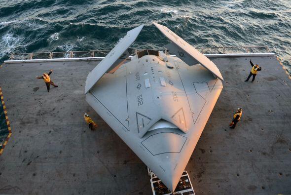 Se trató de un avance en el programa de aviones robot en medio de temore...