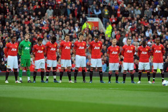 El Manchester United encaró su partido de la fecha 34 de la Liga...