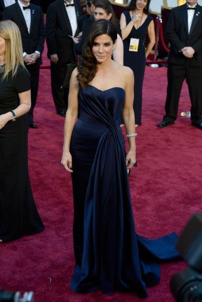 En esta ocasión, Sandra Bullock pudo brillar en la lista de las m...
