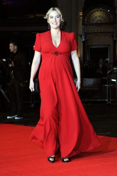 La estrella de cine se paseó por la alfombra roja de la película 'Labor...