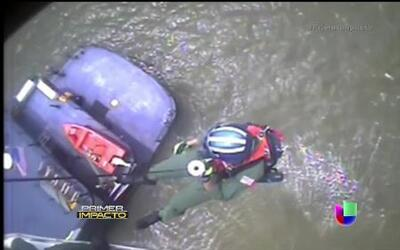 Dramático rescate de un barco-casino