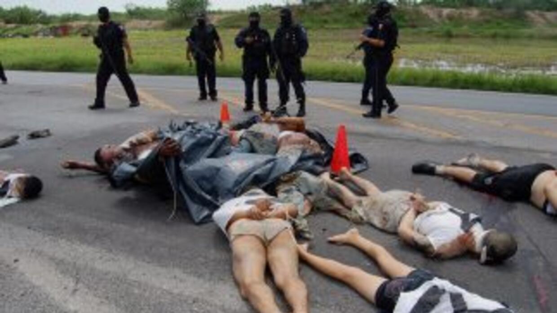 Los 72 cadáveres hallados en una fosa en Tamaulipas podrían ser de inmig...