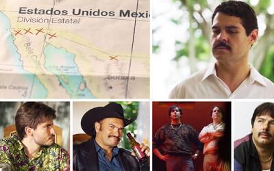 Patrones del narco del la serie 'El Chapo'